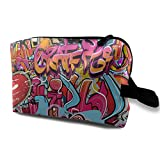Louis Woodrow Hip Hop Graffiti Unisex 3D Digital Printed Makeup Bag Gift