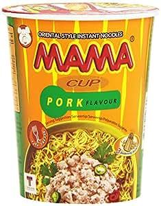 Noodles mama pork cup - Preparado de fideos, 70g
