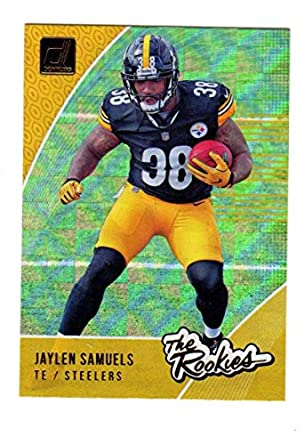 1f4318d68df Image Unavailable. Image not available for. Color  2018 Donruss The Rookies Football  Card  34 Jaylen Samuels NM-MT Pittsburgh Steelers Official