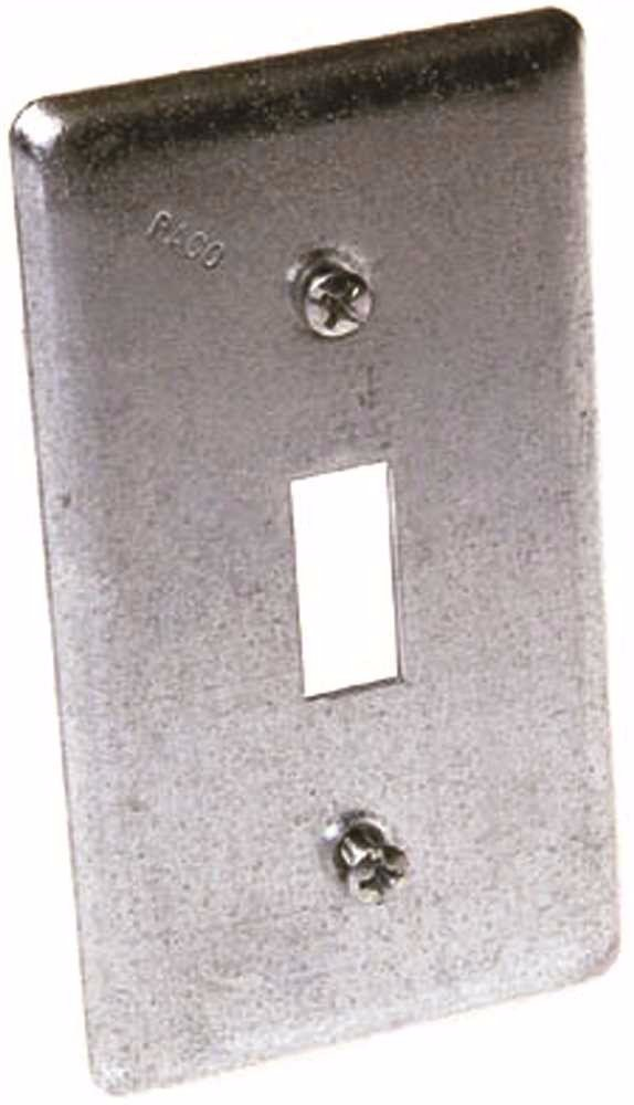 Hubbell 865 Handybox 1 Toggle Switch Cover