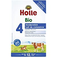 Holle Bio 4段后续奶粉,1盒装 (1 x 600 克)
