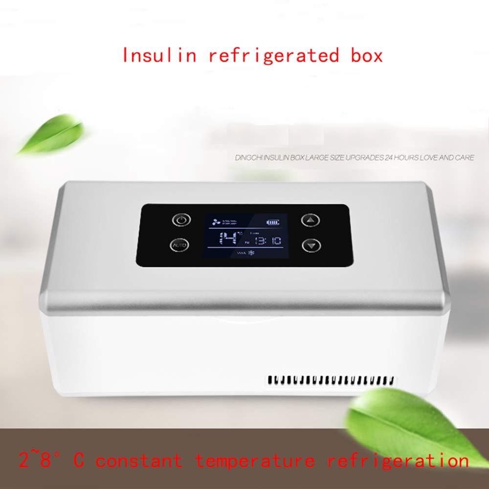 Suitable For Travel//Interferon//Drug Storage Drug Cooler 2-8/°C Medical Refrigerator Car refrigerator Portable Mini Insulin Refrigerated Box