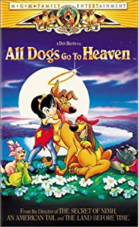 all dogs go to heaven vhs - All Dogs Christmas Carol