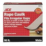 "Ace CAULK ROPE 3/16""X90' WHT"