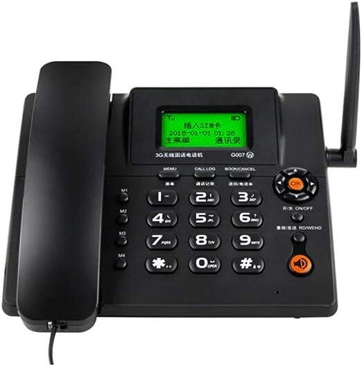 MSNDIAN Tarjeta de teléfono Tarjeta inalámbrica Teléfono Fijo Tarjeta de teléfono Fijo Teléfono móvil Tarjeta SIM Artículos para el hogar teléfono (Color : Negro): Amazon.es: Hogar