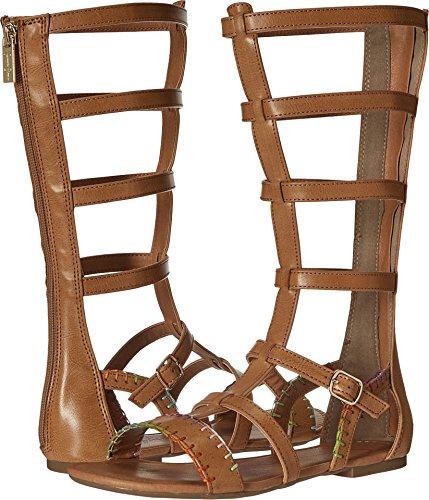 Jessica Simpson Girls' Dorinda Gladiator Sandal, Natural, 4 M US Big Kid (Girls Gladiator Sandals)