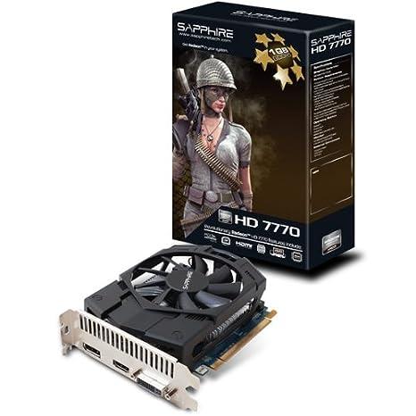 Sapphire Radeon HD 7770 - Tarjeta gráfica (1 GB ddr5 sdram ...