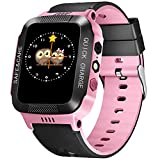 TOPCHANCES Kids Smartwatch Phone,Children's Smart Watch with Camera Flashlight Android iOS Electronic Smartwatch