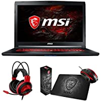 MSI GL72M 7RDX-699 Select Edition (i7-7700HQ, 32GB RAM, 480GB NVMe SSD + 1TB HDD, NVIDIA GTX 1050 2GB, 17.3 Full HD, Windows 10) Gaming Notebook