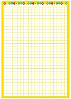 07dd4f64a5b A3 classroom chart for use with 10mm stickers (stickers not included)