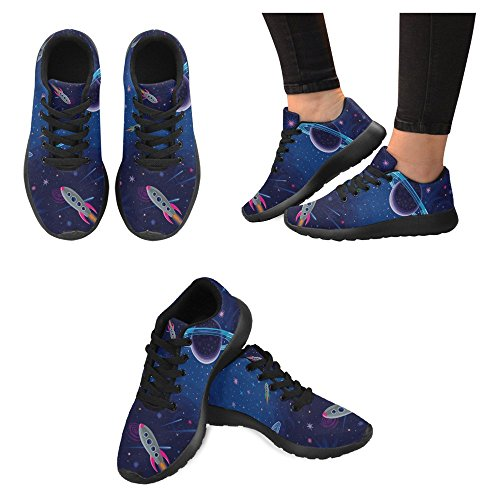 Cosmic Womens 1 Multi Stars Walking Jogging Go Running Casual Sports Easy and Shoes Running Space InterestPrint Comfort Lightweight Sneaker OdqwdFA