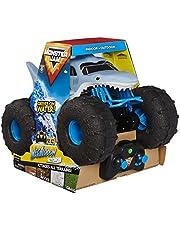 Monster Jam 6056227 Officiële Megalodon Storm All-Terrain Afstandsbediening Monster Truck, 1:15 Schaal, Grijs, 25.4 x 38.1 x 27.94 cm
