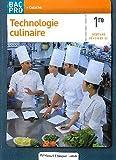 Technologie culinaire 1e Bac Pro élève cuisine