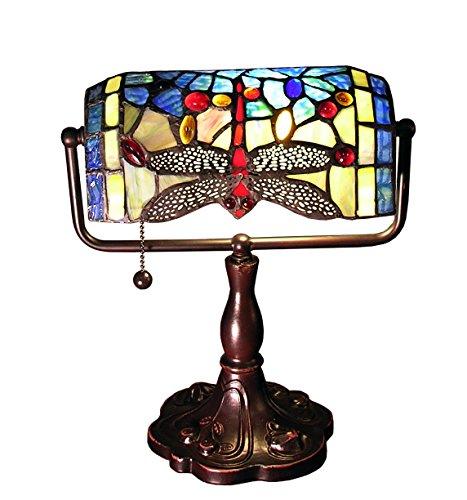 Stella Accent Lamp (Whse of Tiffany 305B/BTL Warehouse of Tiffany Stella 12 inch Blue Dragonfly Accent Lamp)