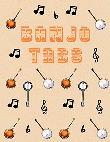 Used, Banjo Tabs: Stylish Blank Sheet Music Notebook with for sale  Delivered anywhere in Canada