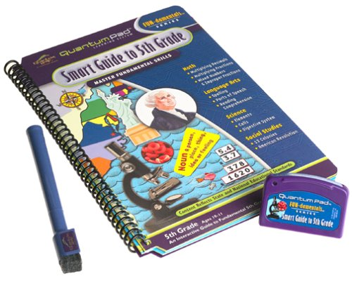 Quantum Pad Library Smart Guide To Fifth Grade LeapPad Book Toys