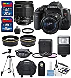 Canon EOS Rebel T6i + EF-S 18-55mm IS STM Lens Kit + Deluxe Bundle (14 Items) Review