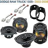 dodge ram 1500 audio - Dodge Ram Truck 1500 2002-2008 Factory Speaker Replacement Harmony Speakers New