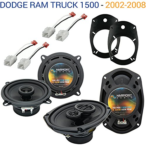 Fits Dodge Ram Truck 1500 2002-2008 Factory Speaker Replacement Harmony Speakers New ()