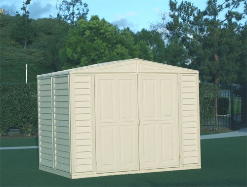 DuraMax Metal Structured DuraMate Shed (8 ft. L x 5.5 ft. W)