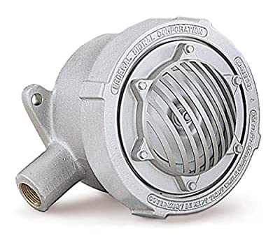 "Federal Signal 31X-120-3 Explosion-Proof Vibrating Horns, 3/4"" NPT Pipe Mount, 120 VAC"