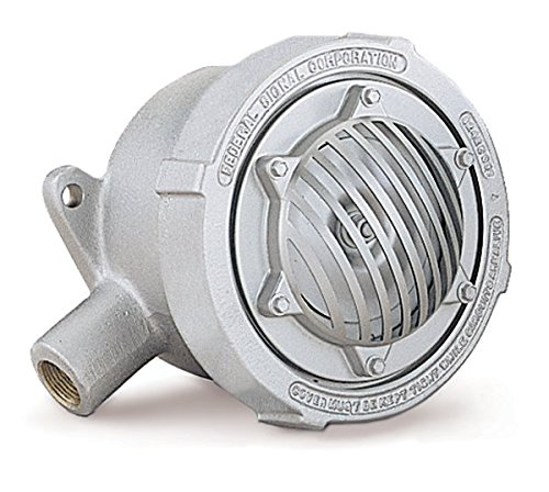 Federal Signal 31X-120-3 Explosion-Proof Vibrating Horns, 3/4