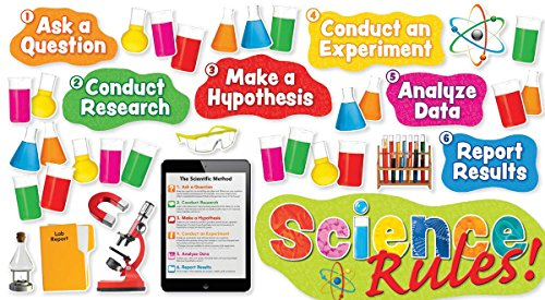 Scholastic Classroom Resources Science Rules! Bulletin Board (SC581920) ()