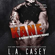 Kane: A Slater Brothers Novel Audiobook by L. A. Casey Narrated by Mia Ahern