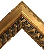 Cheap Large Ornate Gold with Decorative Trim Framed Beveled Wall Mirror (24×30 Inch)