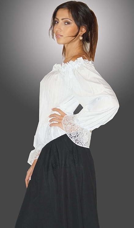 Maylynn 12500 - Blusa Grit, blanca, talla M: Amazon.es: Juguetes y juegos
