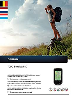 Garmin Carte vectorielle topographique Topo Benelux Pro, Noir, uni GGGM5|#Garmin 010-12008-01