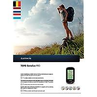 Garmin Topo Benelux Pro Topographische Vektorkarte, schwarz, Uni