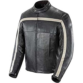 Amazon Com Joe Rocket Old School Men S Leather Motorcycle