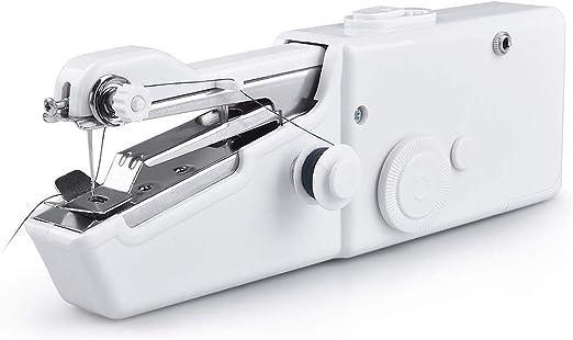 Lin-Tong - Máquina de Coser de Mano compacta y Ligera, fácil de ...