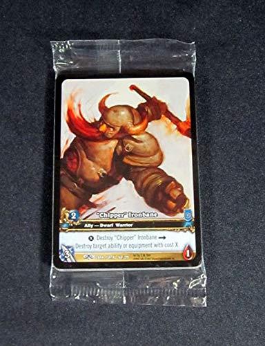 """(9) World of Warcraft WoW TCG""""Chipper"""" Ironbane Dark Portal Promo Extended Art"""