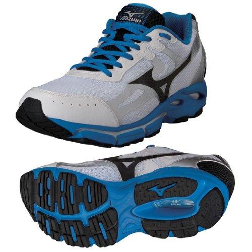 MIZUNO Wave Resolute 2 Zapatilla de Running Caballero Blanco / Azul