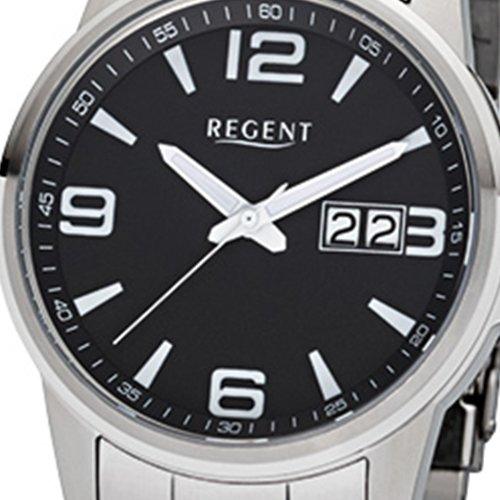 Regent herrklocka F993 rostfritt stål