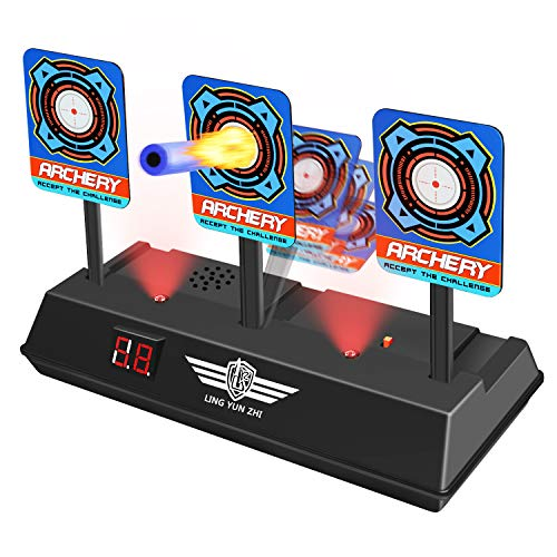 - Nerf Guns Targets for Kids, Tesoky Electronic Shooting Digital Targets Toy Nerf Targets for Shooting Outdoor Electric Target HDUSST01