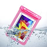 Sumaclife Waterproof Protective Pouch Case With Strap for Samsung Galaxy Tab Pro 8.4 / Tab S 8.4 / Tab 4 8.0 / WinBook TW802 Tablet, 8-Inch / KingPad K70 7'' / Yuntab 7