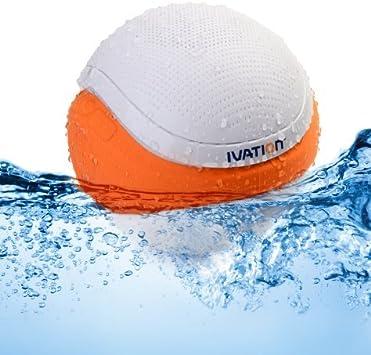 Amazon.com: Ivation Waterproof Bluetooth Floating Speaker, White