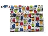 Mini Wet Bags for Menstrual Pads Sanitary Pads (5 PCS, WSDD3)