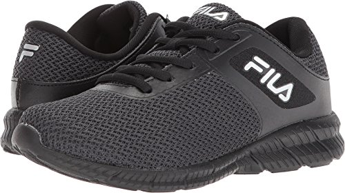 Running Shoe, Black/Dark Silver
