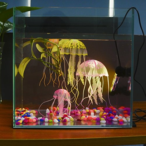 S SMIFUL Aquarium Light Fish Tank LED Lights Submersible Underwater Colorful Strip for Background Decorations Glofish Plant Lighting, 7.5 - Colorful