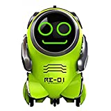 the dream app - Pocket Robot for Kids-WomToy WTR3 Robot with App Ultrasonic Control,Glowing Face,Rotating,Dancing,Recording,Replying,Matching Interaction