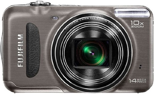 (Fujifilm FinePix T200 Gunmetallic Digital Camera)