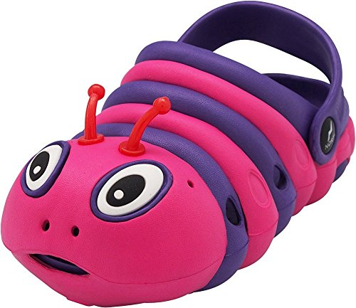 NORTY - Toddler Girl's Bug Clog Sandal, Purple, Fuchsia 40697-8MUSToddler