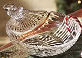ORNAMENTS COLLECTION 6 INCH ROUND CRYSTAL DISH