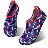 Best Kids Water Shoes - hiitave Girls Swim Water Shoes Non-Slip Quick Dry Review