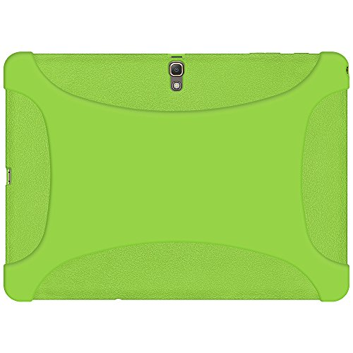 Amzer Silicone Jelly Skin Fit Case Cover for Samsung Galaxy Tab S 10.5, Green (AMZ97216)