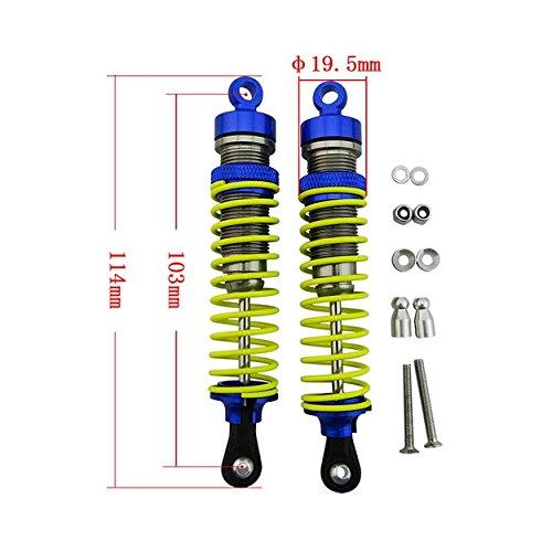 Slash Big Bore Shocks (X Spede XPTD103X06 Aluminum 1.32 (103mm) Big Bore Shock)